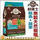 ◆MIX米克斯◆【嘗鮮體驗價99元】美國Supreme Source紐健士.低敏無穀天然貓糧《鮭魚+蔬果225g》