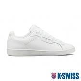 K-SWISS Clean Court II CMF復古運動鞋-女-白/灰