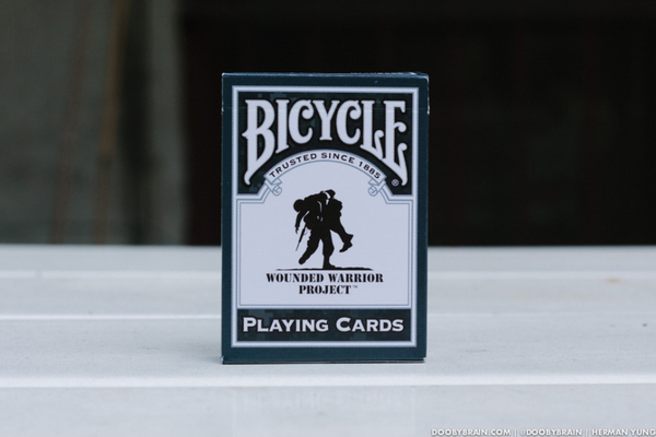 【USPCC 撲克】撲克牌BICYCLE WOUNDED WARRIOR 受傷戰士