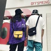 泰國同款帆布郵差包ins街拍潮牌男女大學生單肩斜挎小包蹦迪包『伊莎公主』