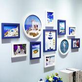 客廳照片墻簡約現代歐式餐廳實木小相框墻掛墻創意組合臥室相片墻   CY潮流站