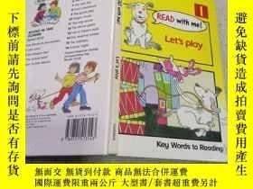 二手書博民逛書店read罕見with me:let s play和我一起讀:我們一起玩吧Y212829