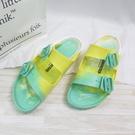Birkenstock 勃肯 Arizona EVA 拖鞋 防水 女款 1019477 黃藍漸層【iSport】