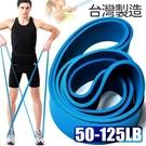 台灣製造125磅大環狀彈力帶LATEX乳膠阻力繩.手足阻力帶運動拉力帶.彈力繩拉力繩瑜珈圈.抗力