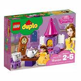 樂高積木 LEGO《 LT10877 》2018 年 Duplo 幼兒系列 - 貝兒公主的下午茶派對 ╭★ JOYBUS玩具百貨
