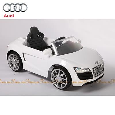 Audi R8 搖控電動車 白【台安藥妝】