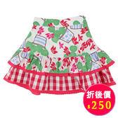 【愛的世界】鬆緊帶純棉小圓裙/2~6歲-台灣製- ★春夏下著