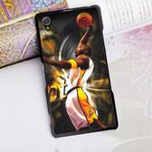 [機殼喵喵] SONY Xperia M4 Aqua Dual E2363 手機殼 外殼 客製化 水印工藝 WZ002 湖人隊 KOBE
