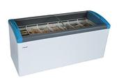 丹麥Elcold 冷凍櫃 圓弧形展示冰櫃【5尺7 冰櫃】型號:FOCUS-171