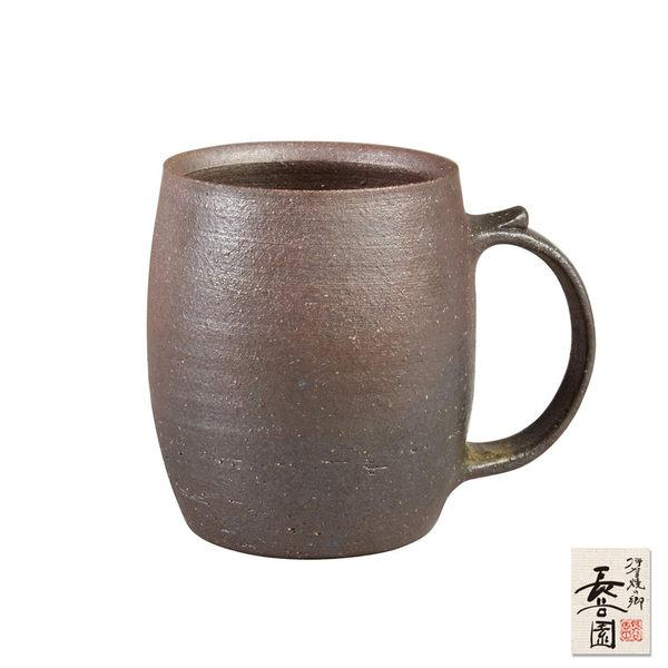 【日本長谷園伊賀燒】日式酒杯-酒桶型(大)