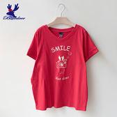 American Bluedeer-微笑攝影鹿T (魅力價)