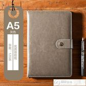筆記本 加厚手帳本商務記事本文具辦公會議記錄筆記本子日記本   居優佳品