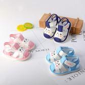 寶寶涼鞋男1-2歲包頭學步鞋夏季寶寶鞋軟底防滑女嬰兒鞋12-24個月【新店開張85折促銷】