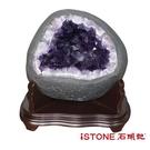 天然紫水晶洞 N (15.99公斤聚寶盆) 石頭記