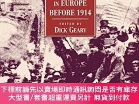 二手書博民逛書店Labour罕見And Socialist Movements In Europe Before 1914Y2