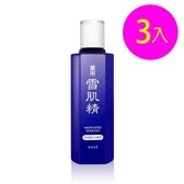 高絲KOSE 雪肌精化妝水(極潤型) 200mlX3