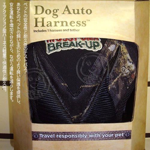 【培菓平價寵物網】美國Bergan》88236寵物車用綠色謎樣氣墊胸背帶L號(22.6~36kg)