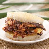 【紅龍】鮮香洋菇豚燒米漢堡 (170g/顆; 3顆/袋)