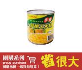 團購24罐/箱 打9折 - 永偉-玉米粒-易開罐(箱)