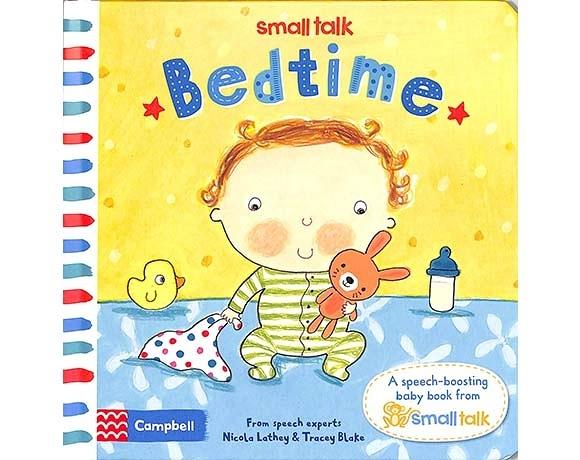 Small Talk:Bedtime 寶寶上床睡覺 硬頁書
