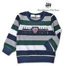 小童綠色條紋針織上衣 [10305] R...