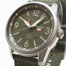 【萬年鐘錶】SEIKO Mechanical 精工 五號盾牌 軍事風 機械 男錶  綠錶面 銀殼 綠錶帶 SSA299J1 (4R37-01D0G)