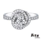 蘇菲亞SOPHIA - 艾芙羅狄 1.00克拉FVVS1 3EX鑽石戒指