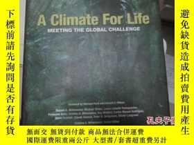 二手書博民逛書店A罕見Climate For Life11966