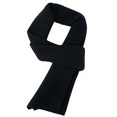 羊毛圍巾-百搭純色經典針織男女披肩6色73wh66【時尚巴黎】