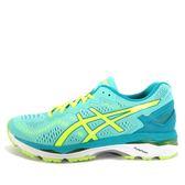 Asics GEL-Kayano 23 [T696N-3807] 女鞋 運動 慢跑 健走 休閒 緩震 輕量 經典 湖水綠