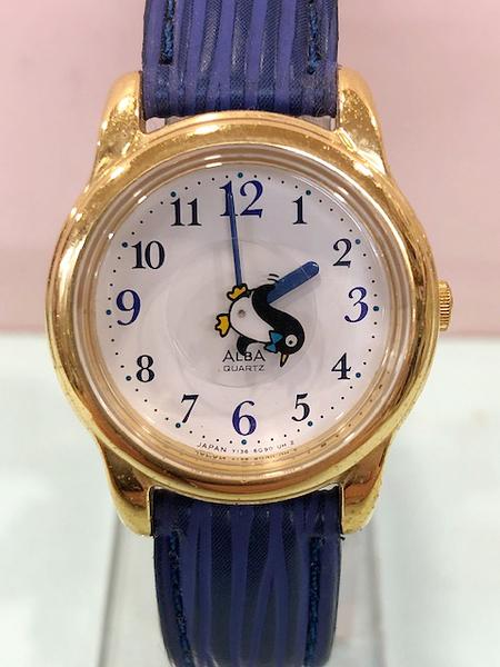 【震撼精品百貨】Hello Kitty 凱蒂貓~日本精品手錶-企鵝ALBA錶#52605