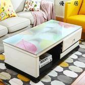 茶幾桌巾防水防燙歐式長方形軟玻璃桌墊-4338