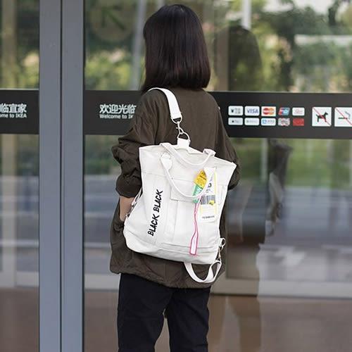 後背包 字母 多功能 斜背包 帆布包 學院風 休閒-手提包/單肩包/後背包【AL255】 ENTER  09/20