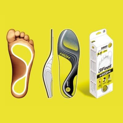 SIDAS 3feet 頂級運動鞋墊 (舒適緩震、穩定支撐) - 高足弓適用 SI3776556【 胖媛的店 】