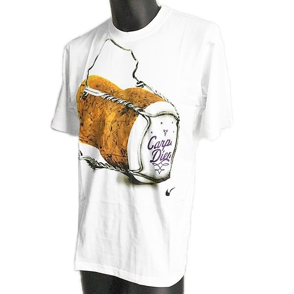 Nike Kobe Carpe Diem [394346-100] 男 T恤 KOBE 黑曼巴 瓶蓋 絕版 紀念款 白