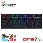 Ducky One 2 Mini 60% PBT二色成形不破孔 Cherry MX RGB 機械軸 機械式鍵盤 紅軸 青軸 茶軸