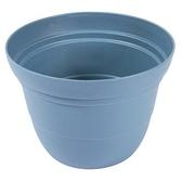 素陶盆8吋 (藍白混色) 8S