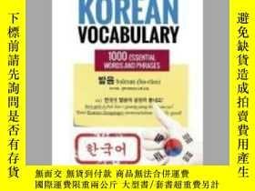 二手書博民逛書店Quick罕見and Easy Korean VocabularyY405706 Bridge Educati