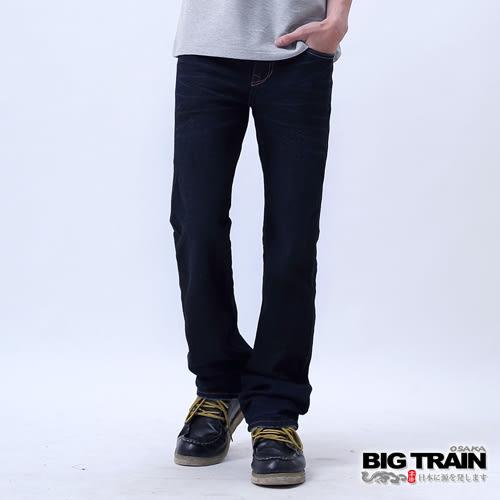 BIG TRAIN 中腰達摩小直筒-男-深藍