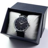 超薄男士手錶皮帶男學生韓版簡約時尚潮流男錶防水石英錶腕錶igo     西城故事