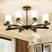 吊燈北歐風客廳吊燈創意個性后現代簡約臥室燈時尚輕奢餐廳燈美式燈具 愛麗絲LX