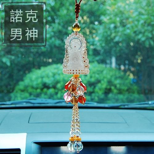 開運吊飾 可愛創意貔貅汽車掛件車載懸掛式小車車上車內車里飾品擺件掛飾男 情人節禮物