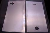 手機螢幕保護貼膜 Apple iPhone 4 皮革紋 (二片式包裝)