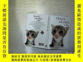 二手書博民逛書店UTTERLY罕見ADORABLE CATS (013)Y203