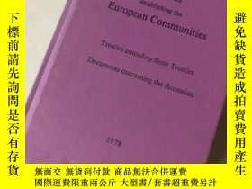 二手書博民逛書店Treaties罕見establish the Europe c