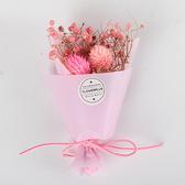 【BlueCat】Purely乾燥單 雙千日紅 滿天星花束 婚禮小物 畢業禮物 禮品 贈品 人造花 情人節