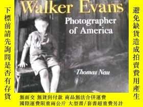 二手書博民逛書店WaIKer罕見Evans photographer of Am