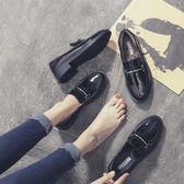 春季上新 英倫風原宿軟妹小皮鞋女鞋子2018新款中跟單鞋女春季社會韓版百搭