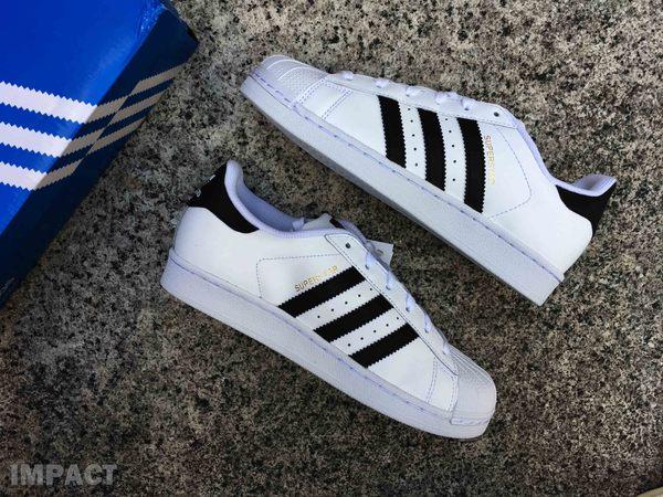 IMPACT Adidas Superstar 黑白 金標 休閒鞋 復古 經典 男女鞋 百搭 C77154 C77124 C77153