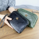手拿包 2020新款多功能拉鍊包大容量手拿包歐美長款錢包零錢包女士手機包 伊蘿